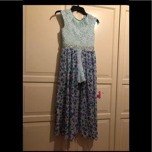 Cute romper floral dress